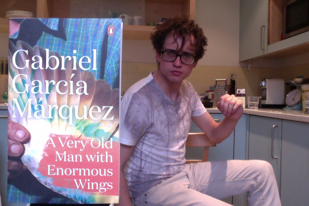 gabriel garcia marquezs a very old man with enormous wings essay This short story written by gabriel garcia marquez tells about a family, who  discovered an old man with huge wings by their house one night the man did  not fit.